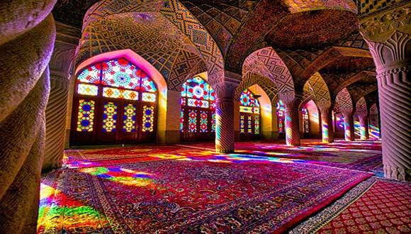 مناطق گردشگری در شیراز