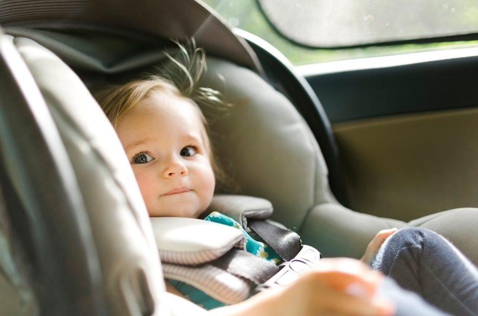 مراقبت از کودکان هنگام رانندگی