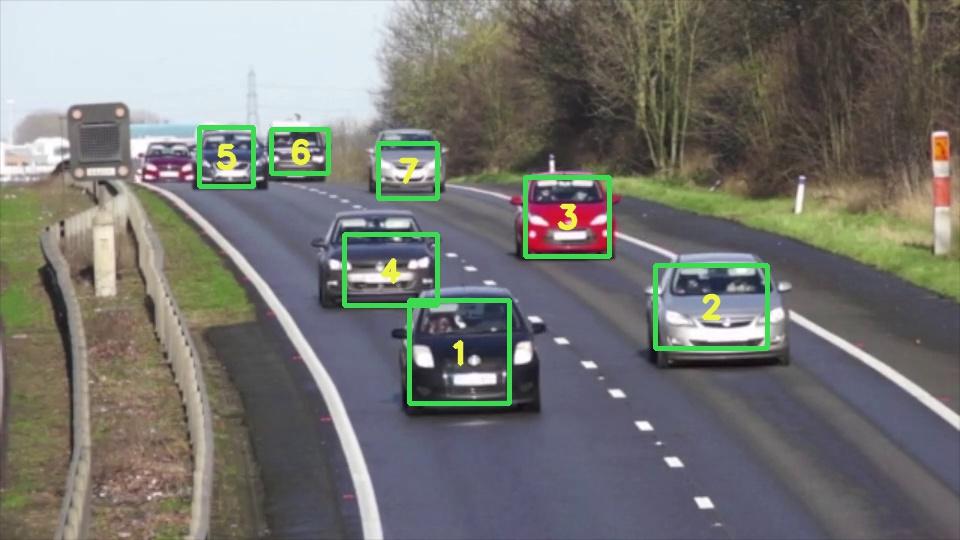 سیستم تشخیص ترافیک خودرو