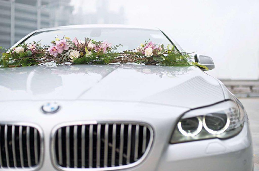 Decorate the brides car rentauto 1024x679 - اجاره ماشین عروس لوکس