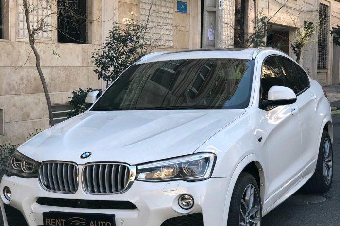 BMW x4 | اجاره بی ام و x4