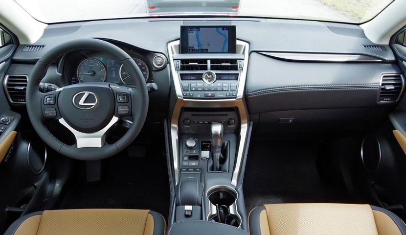 Lexus NX300h - اجاره خودروهای لکسوس در ایران