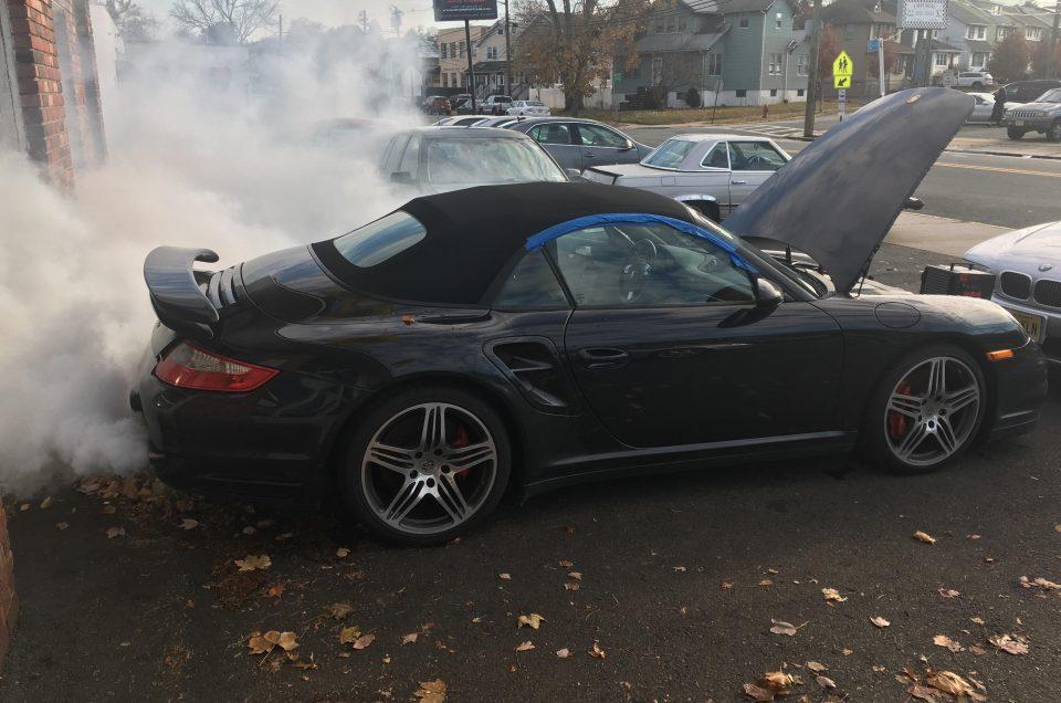 علائم روغن سوزی در خودرو