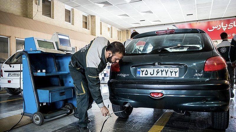 معاینه فنی خودرو - علائم روغن سوزی در خودرو
