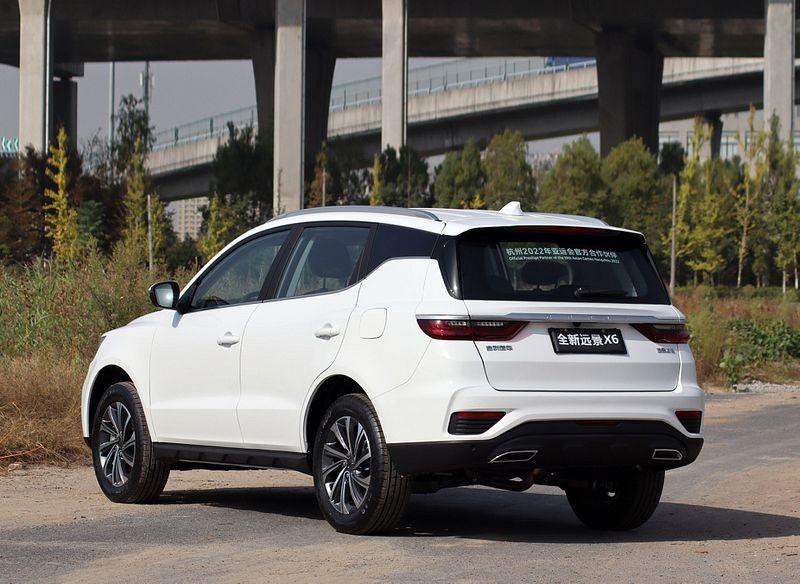 خودرو جیلی X6 1 - کراس اوور جدید جیلی X6؛ طراحی متفاوت و پیشرانه 4 سیلندر