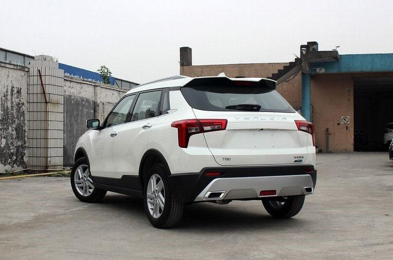 خودرو ونوشا 1 - ونوشا تی60؛ کراس اوور کوچک چینی و شباهت به سانگ یانگ تیوولی