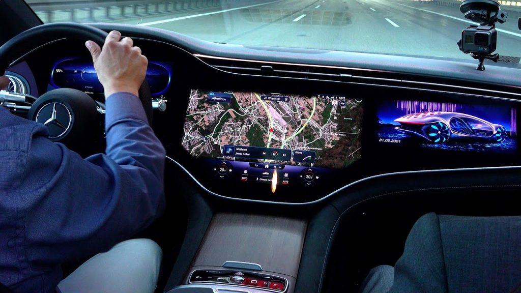 Benz EQS Rentauto 1024x576 - Benz EQS unveiled Tesla's fierce competitor