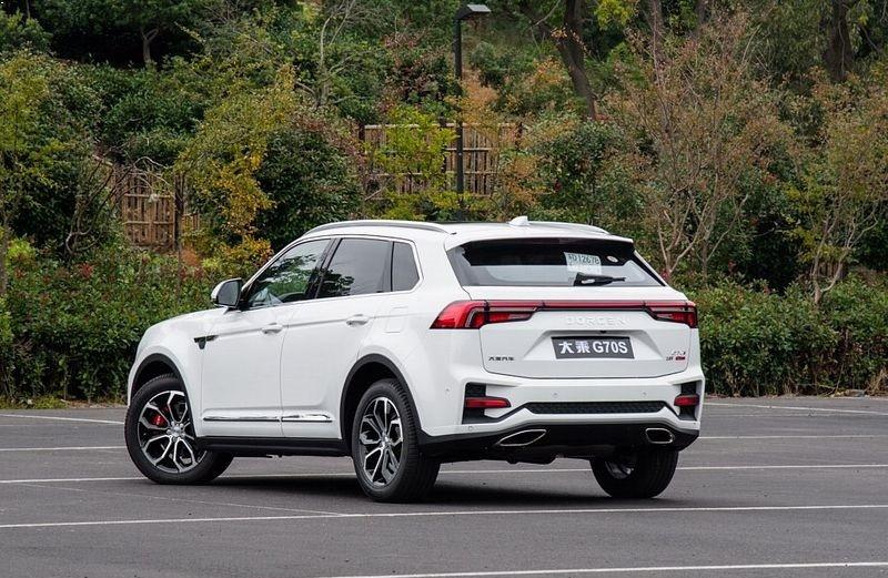 خودرو دورسن 1 - رونمایی از خودرو دورسن G70S؛ شاسی بلند چینی