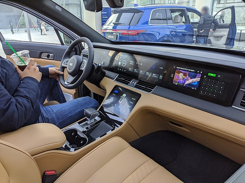 خودرو لی شانگ 1 - رونمایی ازخودرو لی شانگ ONE؛ کراس اوور لوکس چینی