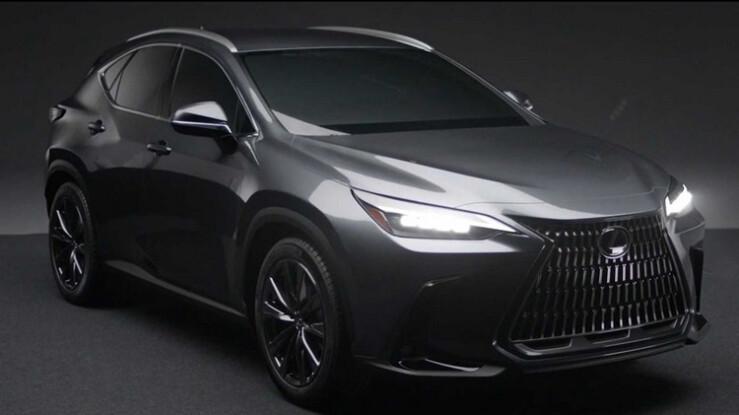 درز تصاویری از خودرو لکسوس NX جدید مدل 2022