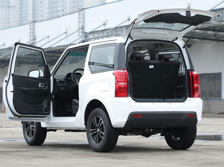 خودرو هِنگران 1 - خودرو هِنگران HRS1، همتای چینی و الکتریکی سوزوکی جیمنی