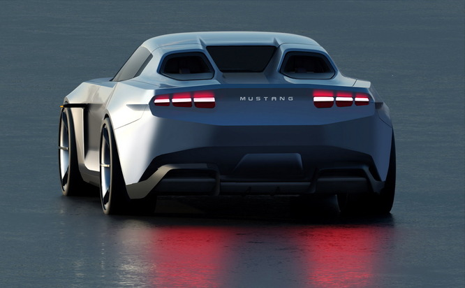Release of Ford Mustang Electric Coupe Model 2030 car design