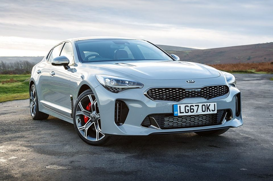 Introducing the special edition Kia Stinger Scorpion model 2022