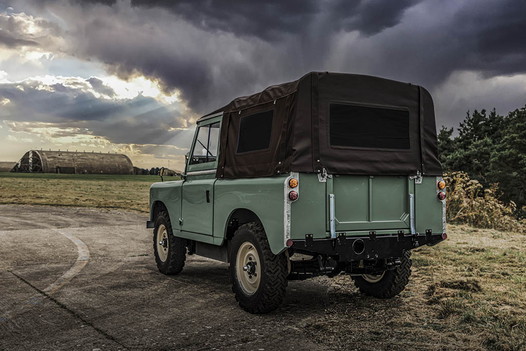 Land Rover Series IIA - The classic Land Rover IIA Series became an electrical product