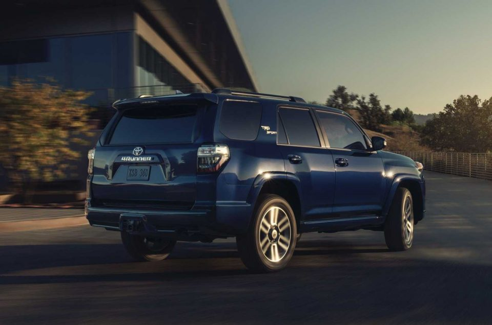Toyota 4 Runner 2022 with the new TRD Sport trim