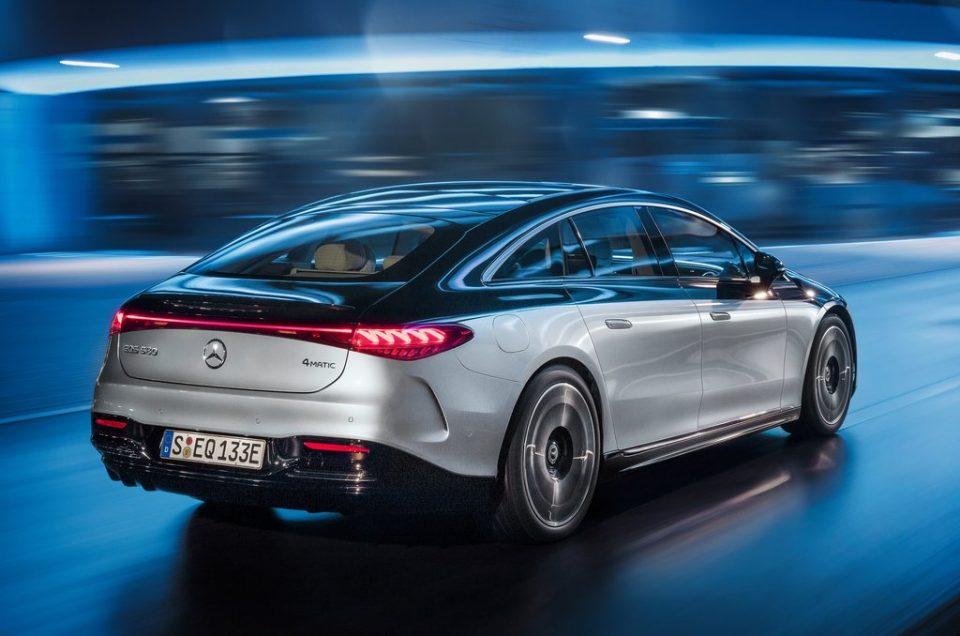 Mercedes-Benz EQS electric, cheaper than S-Class